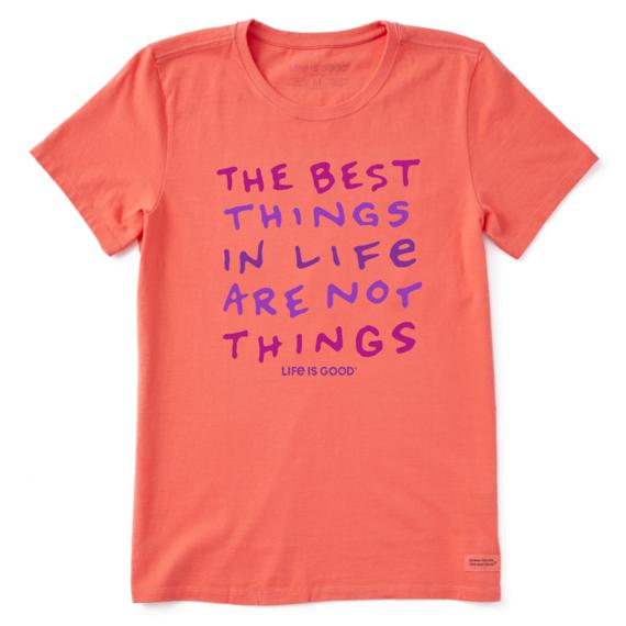 Women's The Best Things In Life Crusher-LITE Tee