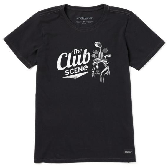 Women's The Club Scene Golf Crusher-LITE Tee