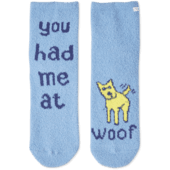 Woof Love Plush Snuggle Sock