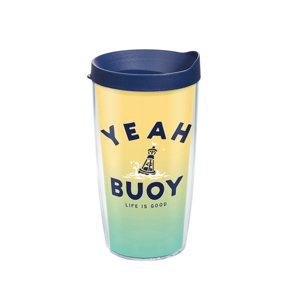 Yeah Buoy Tervis Tumbler with Lid, 16oz